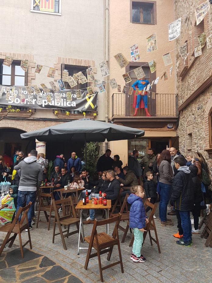 El Tastaverd torna a omplir els carrers de Riudecanyes