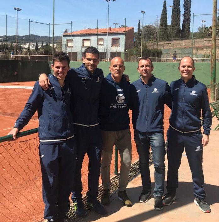 L'equip +40 del Monterols es proclama campió de Catalunya per equips de tennis