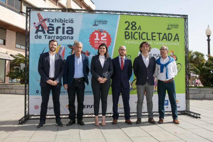 La Bicicletada Popular i l'Exhibició Aèria oferiran els dies 12 i 13 de maig un complet cap de setmana a Tarragona