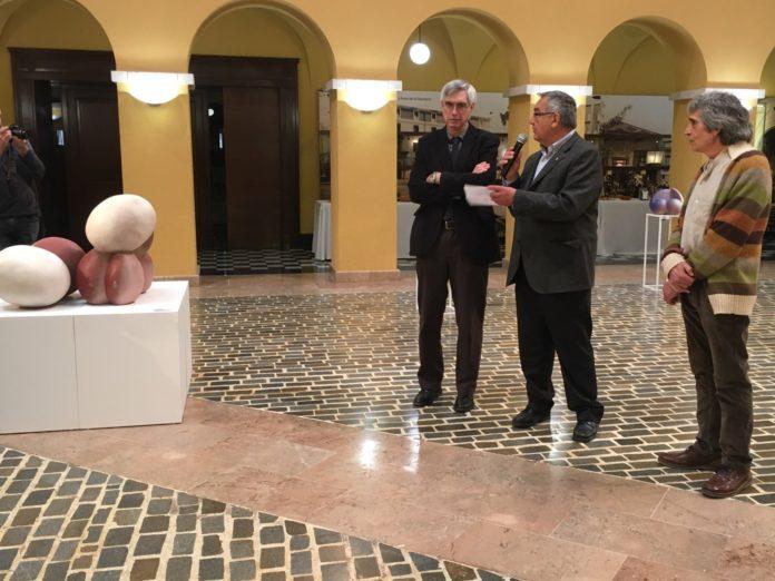 La ceràmica de Miquel Fort omple el Pati del Palau de la Diputació fins al 6 de maig