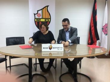 Conveni entre Activa Mutua i el Club Reus Deportiu per promoure l'exercici entre els treballadors