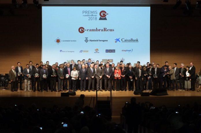La Cambra de Reus premia el dinamisme empresarial
