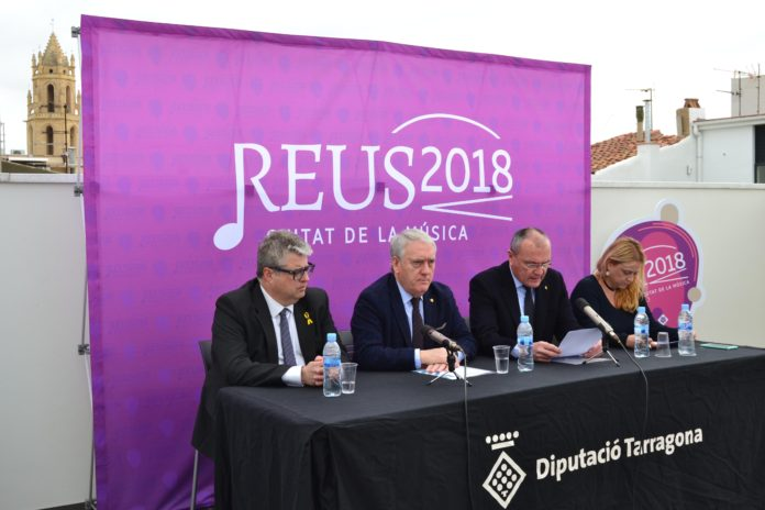 L'espectacle «Reus és música» obrirà la Ciutat de la Música 2018