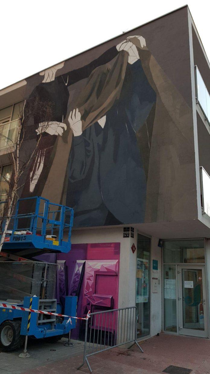 El Casal de Joves és el decorat per al projecte d'arts visuals «Womart»