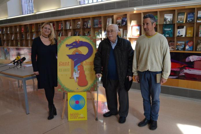 Xavier Amorós serà el protagonista de la celebració dels 15 anys de la biblioteca que porta el seu nom