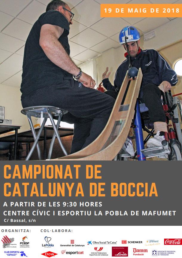Dow, amb el Campionat de Catalunya de Boccia