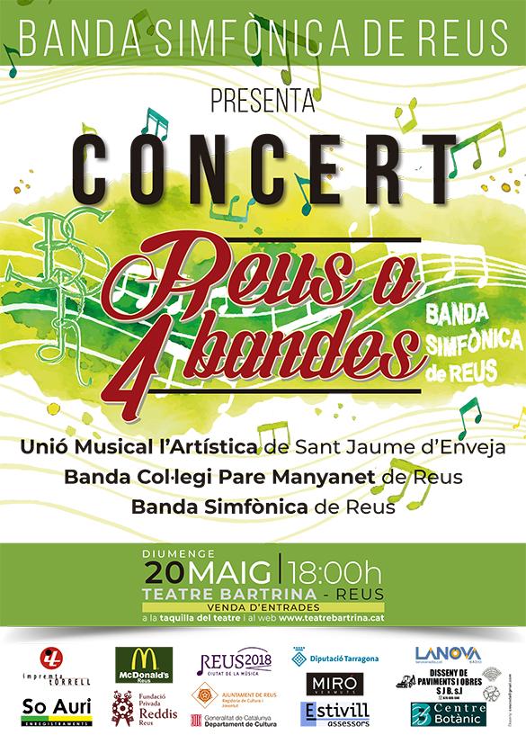 Banda Simfònica de Reus CONCERT REUS A 4 BANDES