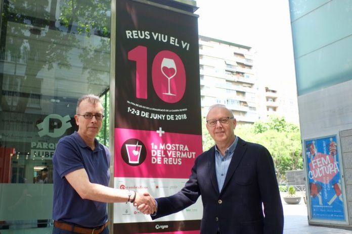 Es presenta el cartell de la desena edició de la REUS VIU EL VI i de la primera MOSTRA DEL VERMUT DE REUS