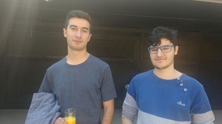 Dos alumnes del Cicle de Informàtica de l'Institut Baix Camp guanyen el segon lloc el concurs WEBS AL PUNT
