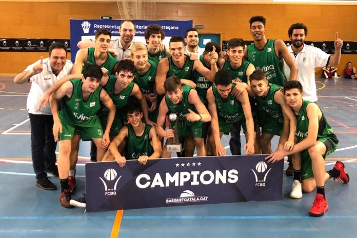 Joventut de Badalona campió de Catalunya Cadet Masculí Preferent