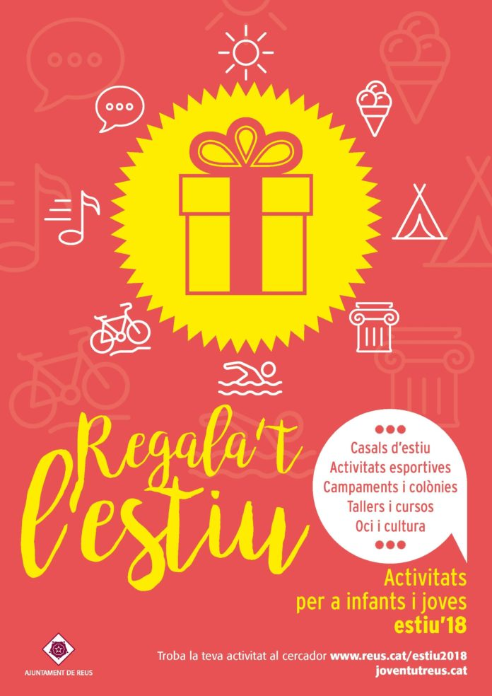 """El programa d'activitats """"Regala't l'estiu"""" recull desenes de propostes adreçades a infants i joves de la ciutat"""
