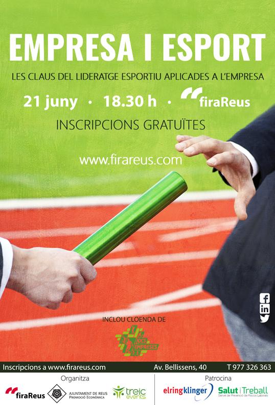 firaReus acollirà una jornada sobre lideratge esportiu aplicat a l'àmbit empresarial