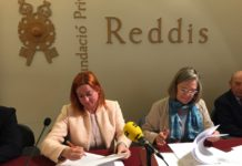 El conveni entre la Fundació Privada Reddis i l'Obra Social la Caixa ajuda a 13 entitats de la comarca