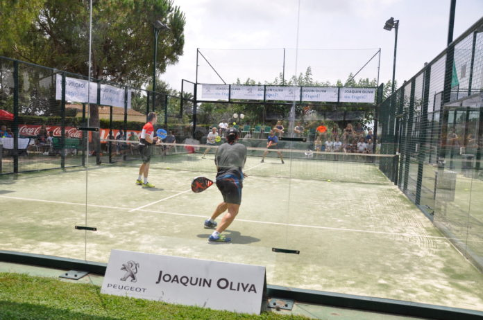 Gran Slam de Pàdel Peugeot Joaquin Oliva