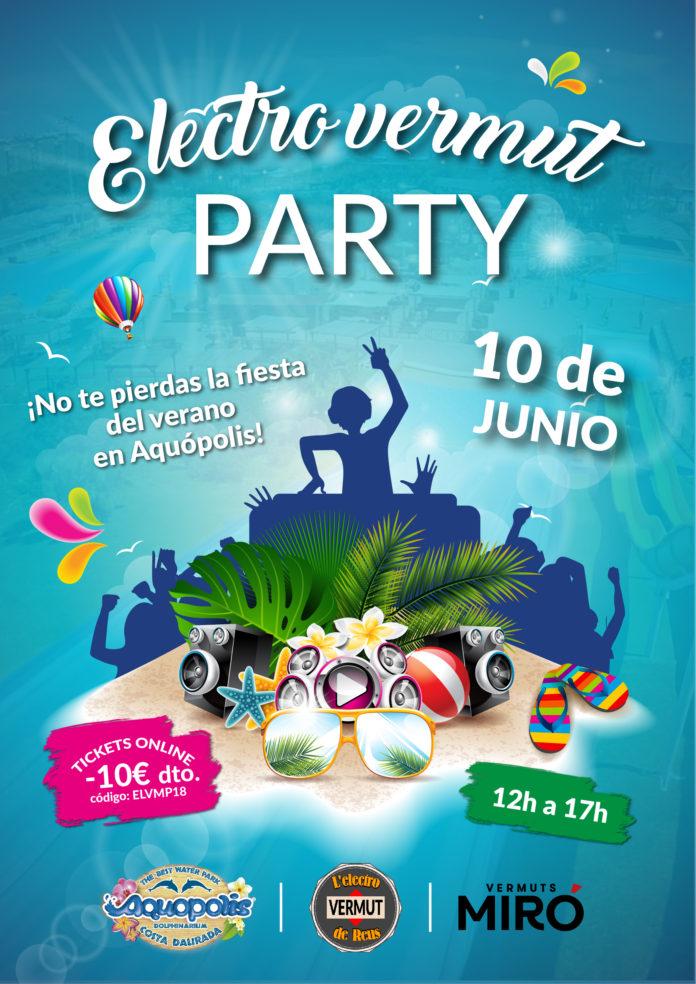 Electrovermut PARTY, la festa del vermut de l'estiu