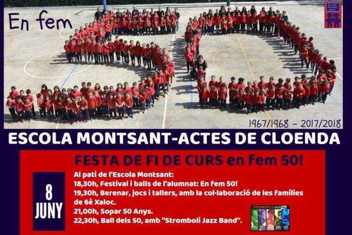 programes festa Escola Montsant
