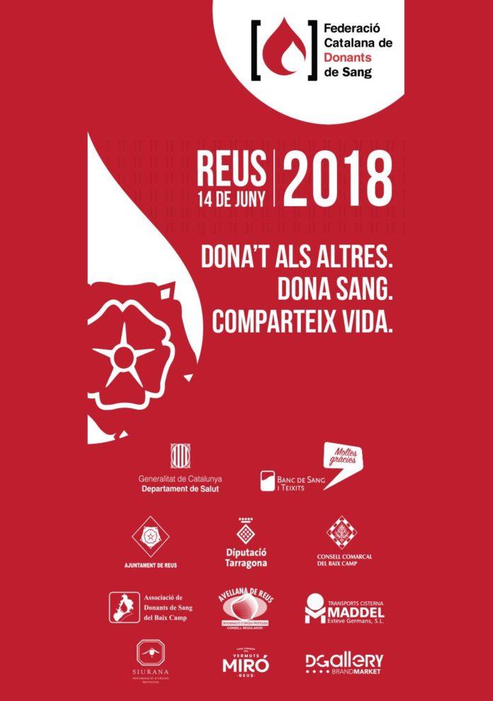 Reus acull l'acte central de celebració del Dia Mundial del Donant de Sang