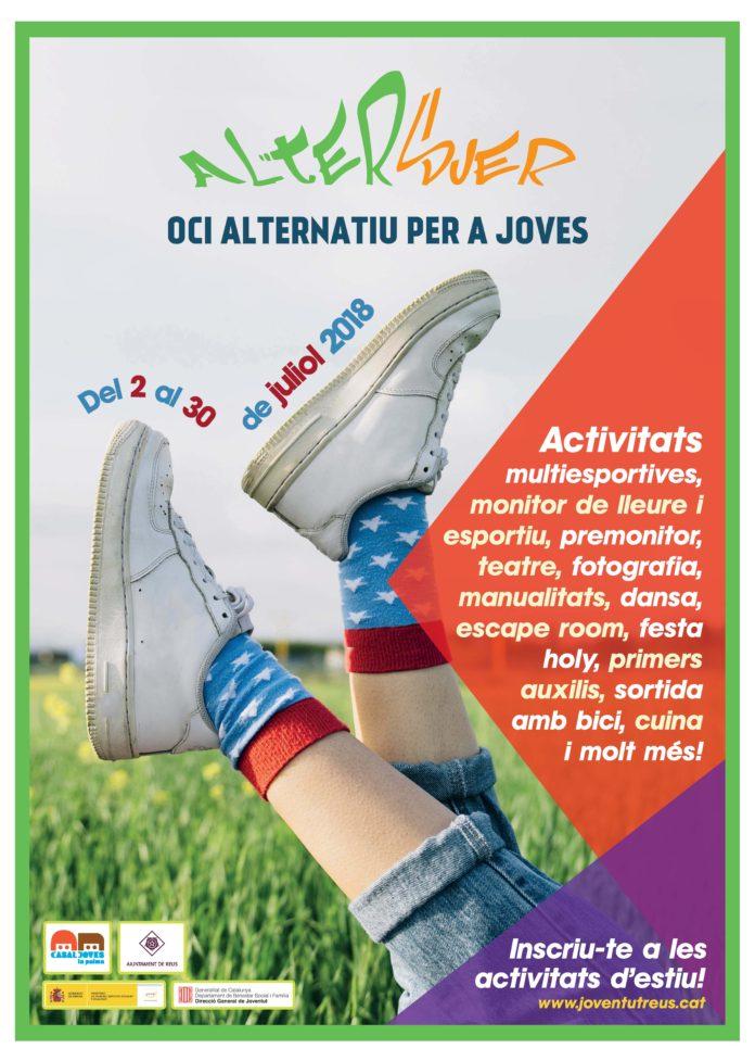 Altersuer 2018, programa d'oci alternatiu adreçat al jovent de la ciutat