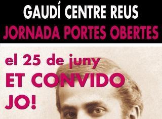 Portes obertes al Gaudí Centre el 25 de juny