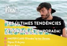 L'influencer Ivan Claverias farà una Master Class sobre moda masculina a La Fira Centre Comercial