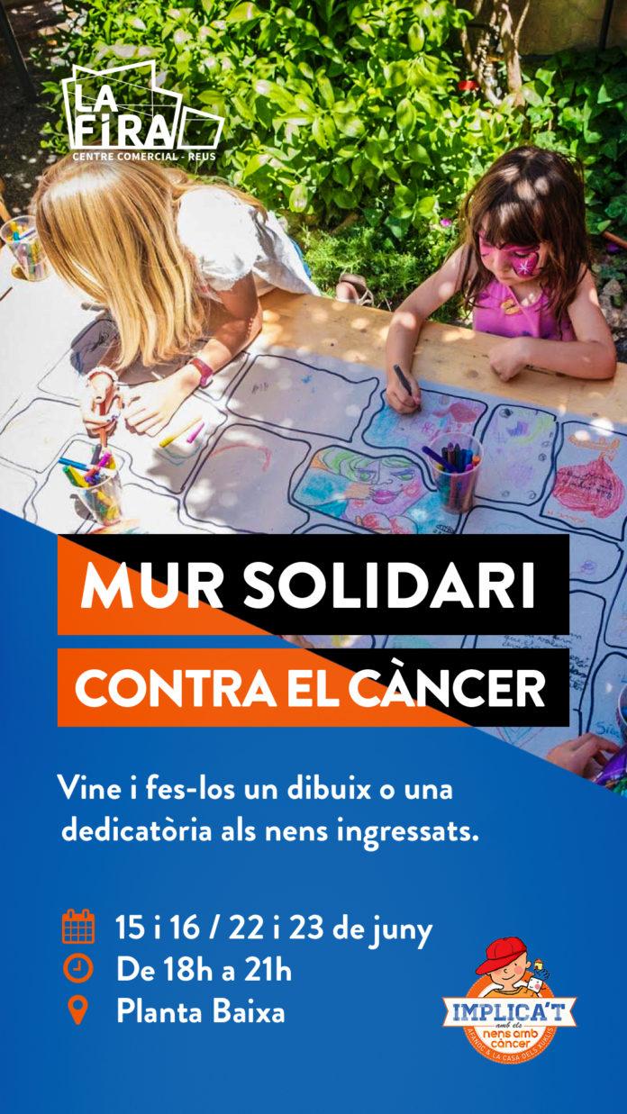 La Fira Centre Comercial acollirà el Mur Solidari de l'AFANOC dintre del programa de Sant Pere Solidari