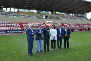 La Diputació i l'Ajuntament de Reus reformen el Pavelló Olímpic i l'Estadi Municipal, on es disputaran diferents proves dels Jocs Mediterranis