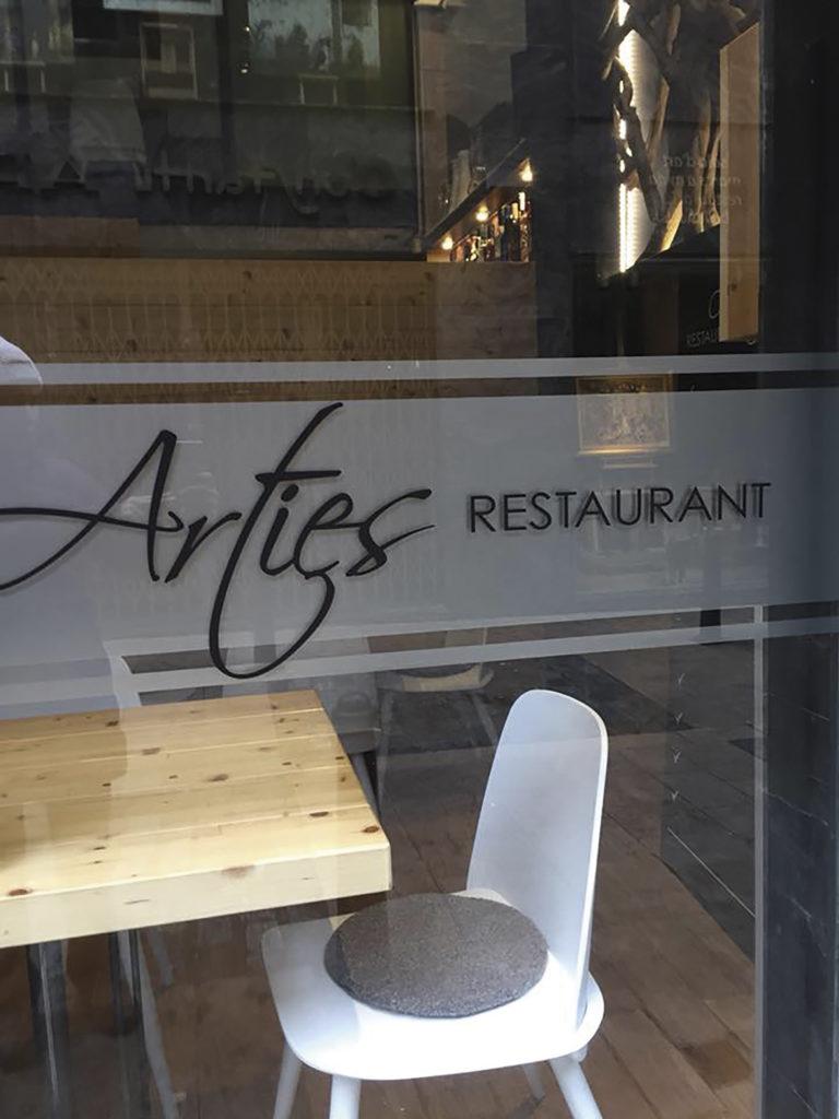 El premi del mes d'agost va ser un àpat al restaurant Arties