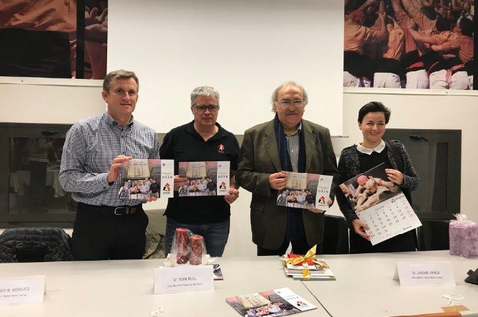 El Taller Baix Camp presenta el calendari solidari 2019
