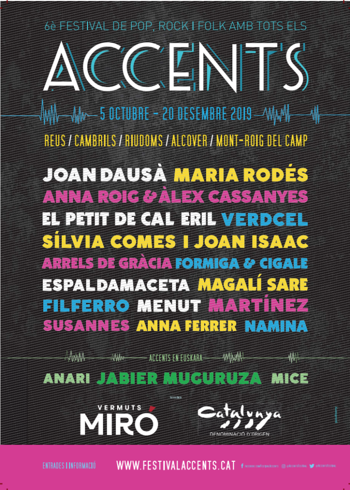 FESTIVAL ACCENTS 2019