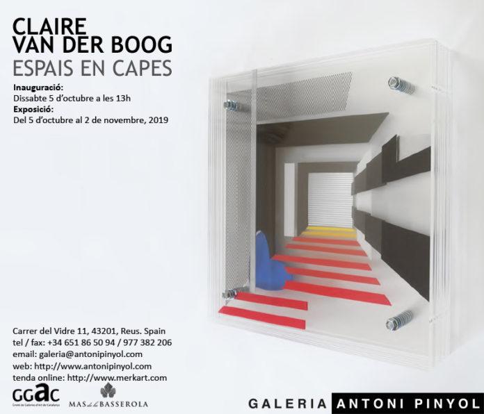 'Claire van der Boog: Espais en Capes'
