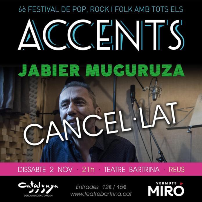 Suspès el concert Jabier Muguruza a Reus
