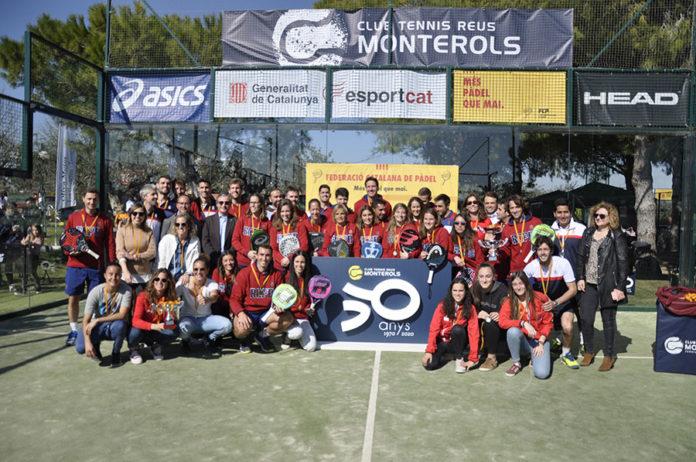 El RC Polo, campió de Catalunya per equips de padel.