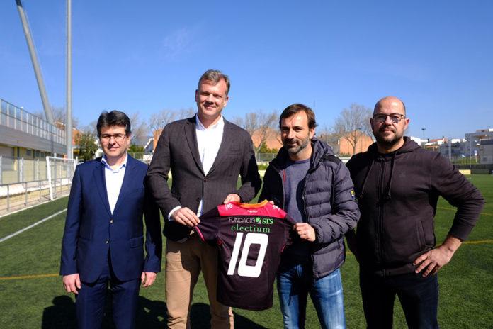 Electium, patrocinador de la Fundació Futbol Base Reus 2020