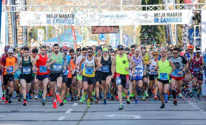 2.000 RUNNERS OMPLIRAN ELS CARRERS DE CAMBRILS