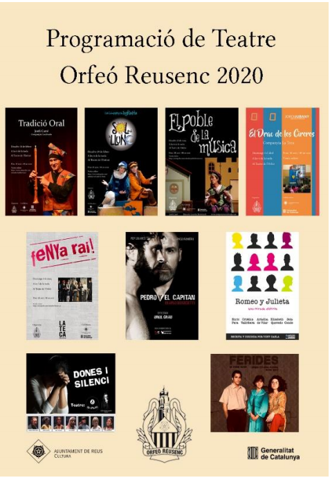 Teatre Orfeó Reusenc 2020