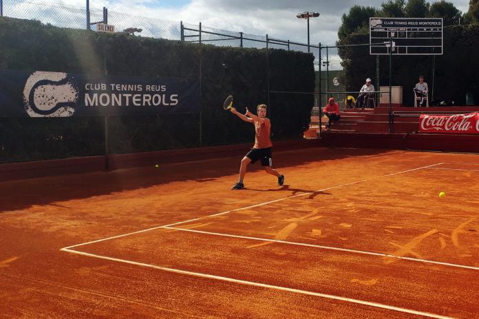 """En joc el VII Open Nacional """"Ciutat de Reus"""" Pre World Tennis Tour 2020"""