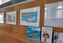 Exposició a la Sala Central de la Biblioteca Xavier Amorós