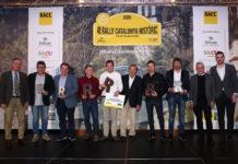 Guanyadors 4t Rally Catalunya Històric-Rally de les Caves