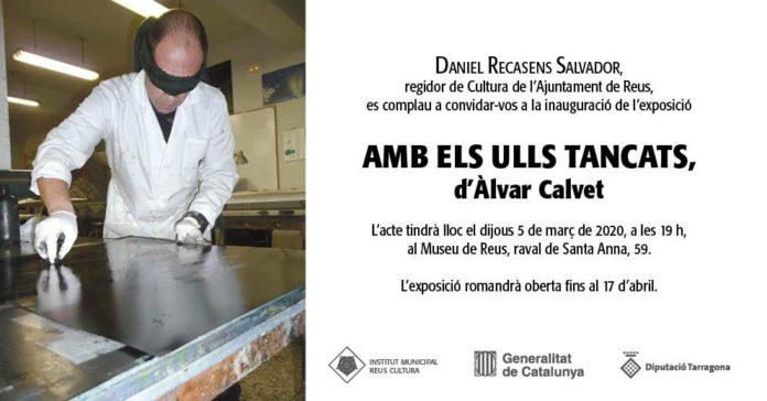 Inauguració de l'exposició d'Àlvar Calvet