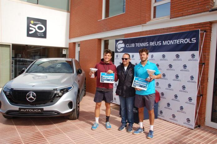 Jordi Mas De Ugarte, campió del VII Open Nacional Ciutat de Reus Pre World Tennis Tour 2020