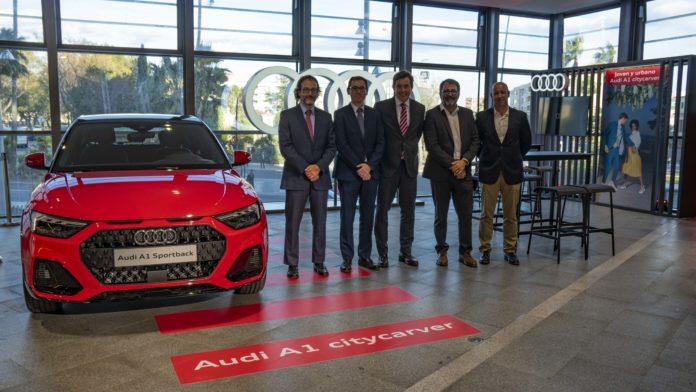 La Fira Centre Comercial acull els nous models d'Audi