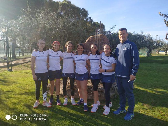 L'equip Infantil Femení del Monterols, sotscampió de Catalunya