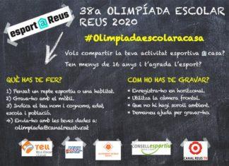 Olimpíada Escolar a Casa Reus