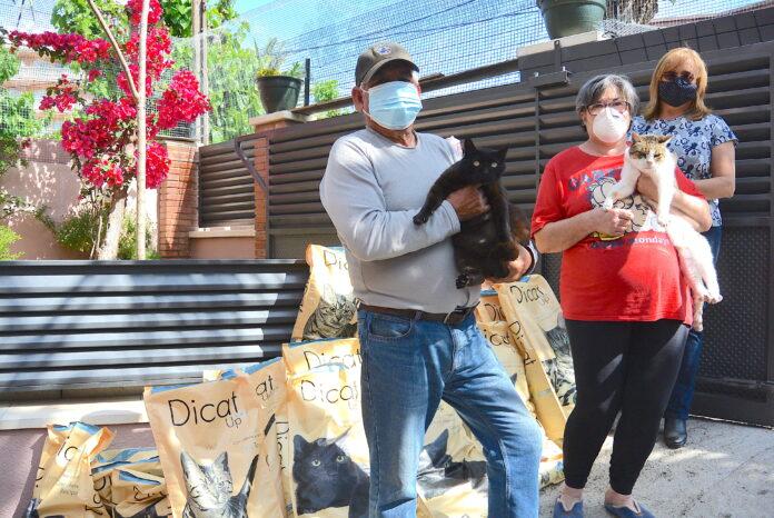 Ajuntament de Salou dona 500 kg de pinso