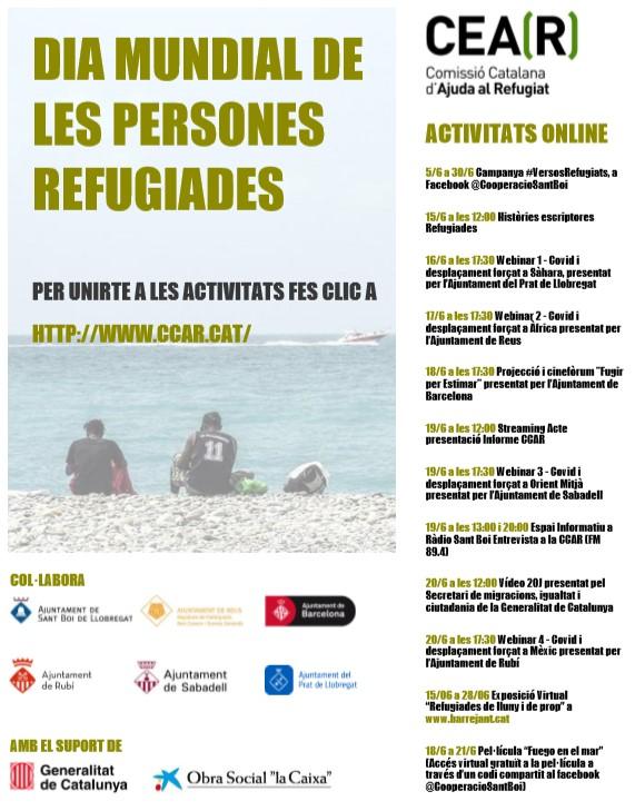 Reus se suma a les activitats per commemorar el Dia Mundial de les Persones Refugiades