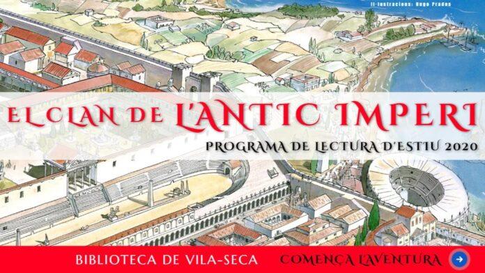 La Biblioteca de Vila-seca viatja fins a la Roma Antiga en el seu Programa de Lectura d'Estiu