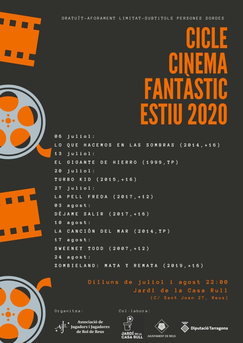 CICLE ESTIVAL DE CINEMA FANTÀSTIC 2020