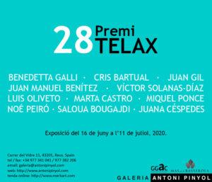 Exposició del 28è Premi Telax - Galeria Antoni Pinyol