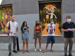 Quarta edició de la Street gallery del Llambordes amb una nova ubicació