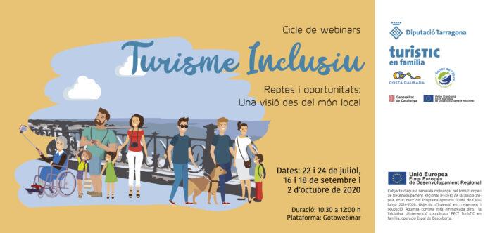 S'inicia un cicle de trobades virtuals sobre sobre Turisme Inclusiu de la Diputació de Tarragona